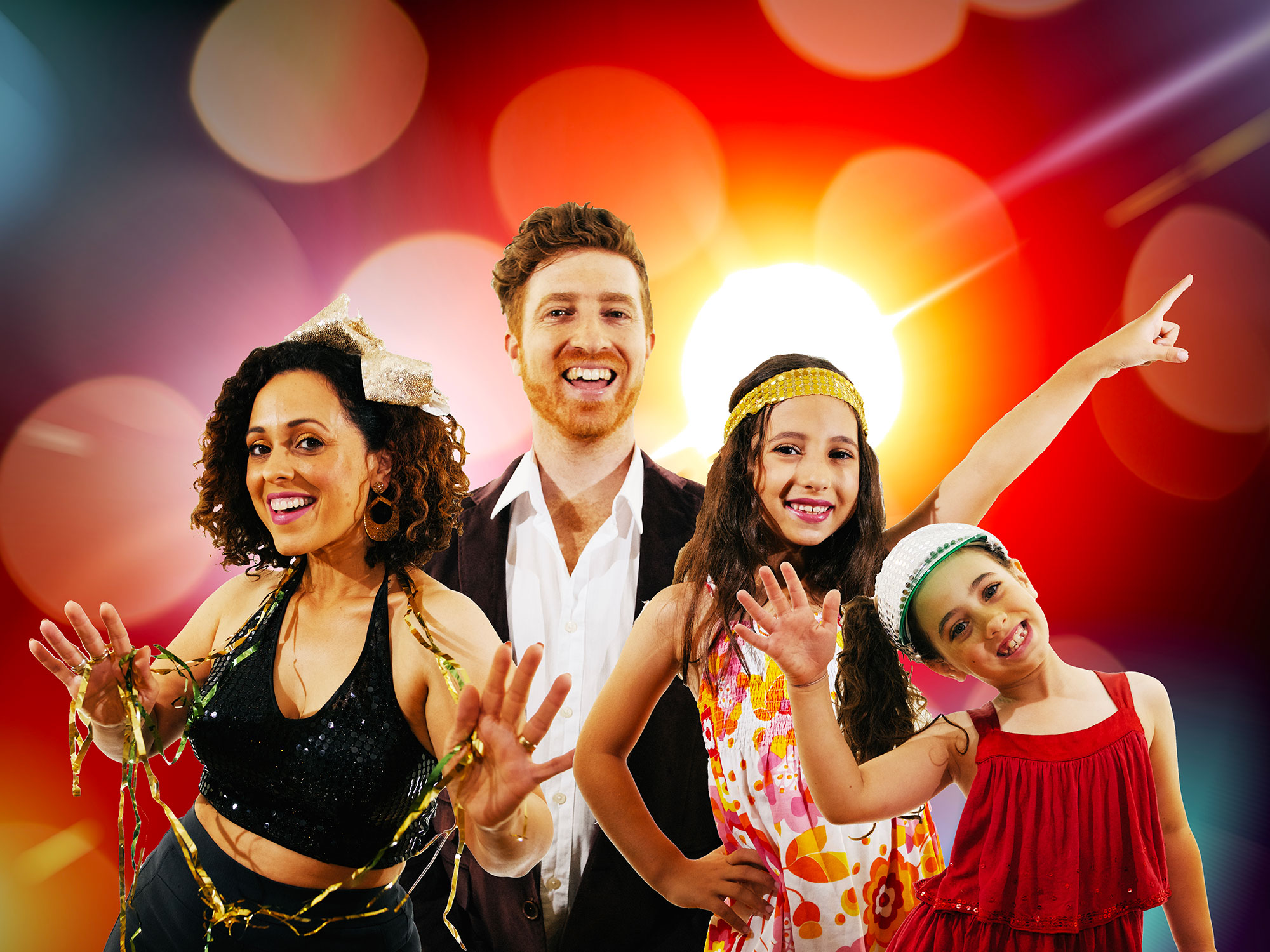 Disco Sparkle Dance Party