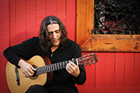 Anthony Garcia playing classical guitar