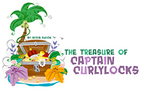 The Treasure of Captain Curlylocks Logo